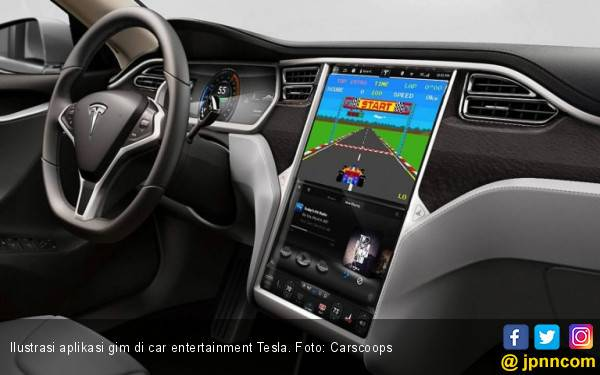 Elon Musk Ingin Eksplorasi Aplikasi Gim di Tesla - JPNN.com