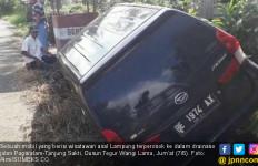 Sopir Mengantuk, Mobil asal Lampung Nyungsep di Pagaralam - JPNN.com