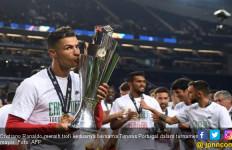 Gelar Kedua Ronaldo Bersama Timnas Portugal - JPNN.com