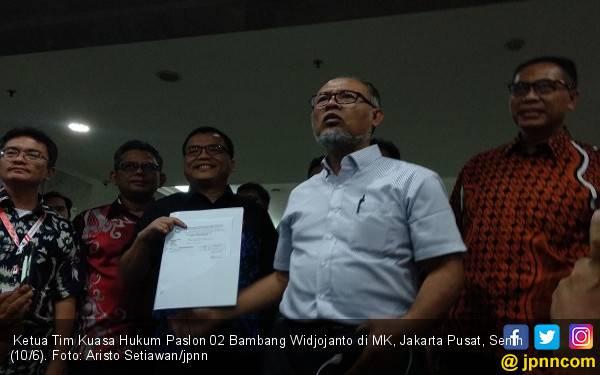 Resmi Diregistrasi, Ini Delapan Tuntutan Tim Prabowo - Sandi di MK - JPNN.com