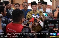 Timnas Indonesia vs Jordania, Menpora Berharap jadi Ajang Pembuktian Skuad Garuda - JPNN.com