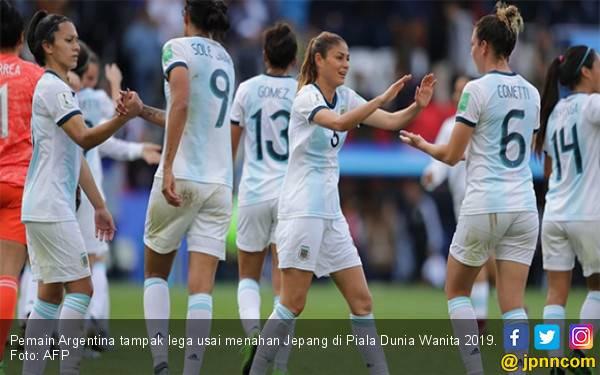 Tahan Jepang 0-0, Argentina Ukir Sejarah Hebat di Piala Dunia Wanita 2019 - JPNN.com