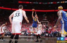 Dramatis, Golden State Warriors Menang Setengah Bola di Game Kelima NBA Finals - JPNN.com