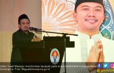Tausiah Ustaz Yusuf Mansur dalam Halalbihalal Keluarga Besar Kemenpora - JPNN.com