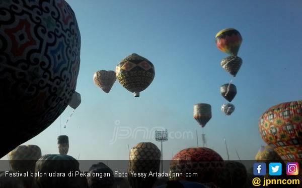 AirNav Indonesia Gelar Festival Balon Udara di Pekalongan, Peserta Capai Ratusan - JPNN.com