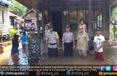 Sungai Tualan Hulu Meluap, Empat Desa Terendam Banjir - JPNN.com