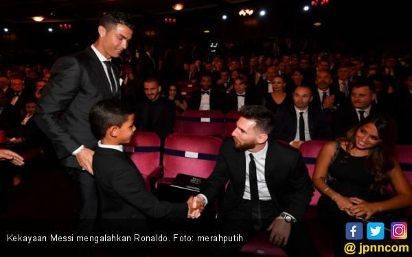 Messi Atlet Paling Tajir di Jagat Bumi - JPNN.com