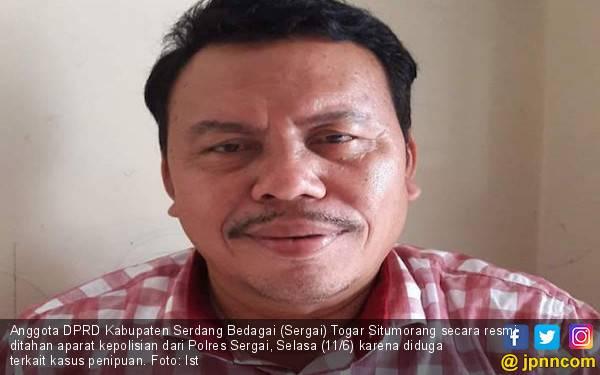 Anggota DPRD Sergai Tersangka Kasus Penipuan, Poldasu: Tidak Ada Tebang Pilih - JPNN.com