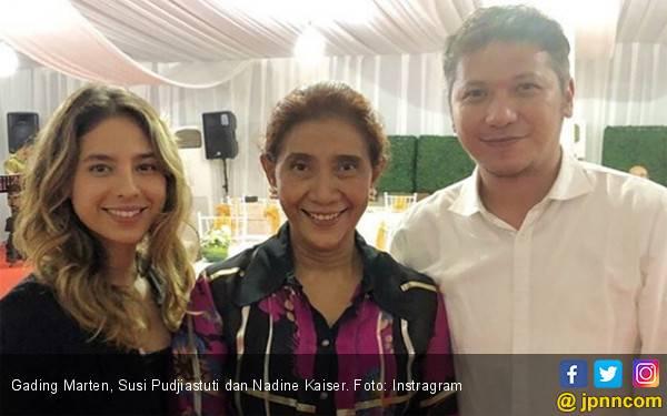Ada Hubungan Apa Antara Gading Marten dan Anak Susi Pudjiastuti? Awas, Ditenggelamkan - JPNN.com