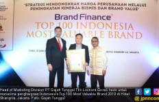 Gajah Tunggal Sabet Indonesia's Most Valuable Brand 2019 - JPNN.com