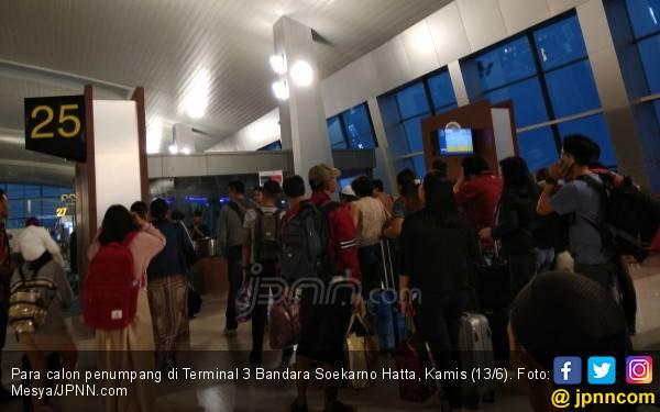 Bandara Soetta Ramai, Harga Tiket Garuda Sempat Turun - JPNN.com