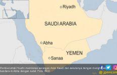 Luncurkan 2 Drone Bermuatan Peledak, Houthi Serang Pangkalan Udara Raja Khalid di Arab Saudi - JPNN.com