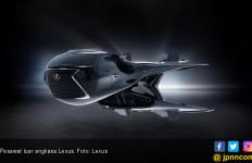 Pesawat Luar Angkasa Milik Lexus Berkelir Paling Gelap di Alam Semesta - JPNN.com