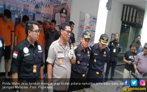 Dua WNA Sembunyikan 31 Kg Sabu-Sabu dalam Mesin Ice Maker - JPNN.com