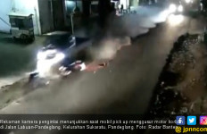 Berkat Kamera CCTV Pelaku Tabrak Lari Berhasil Ditangkap Polisi - JPNN.com