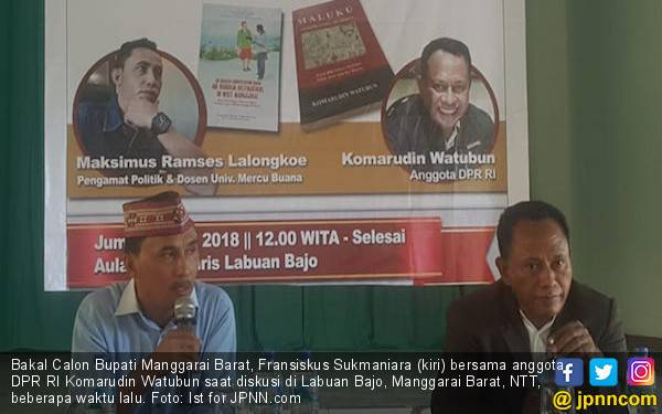 Frans Sukmaniara: Visi - Misi Balon Bupati jadi Indikator Bagi Rakyat Tentukan Pilihan - JPNN.com