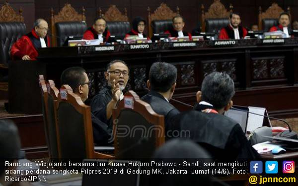 Oh, Hati Prabowo dan Sandiaga Ada di Ruang Sidang MK - JPNN.com