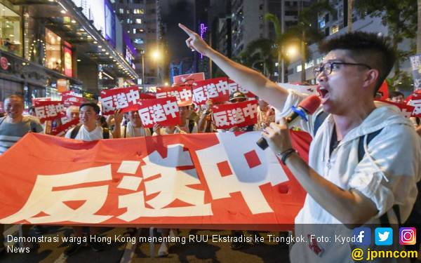 Gelombang Demonstrasi Membesar, Hong Kong di Ambang People Power - JPNN.com