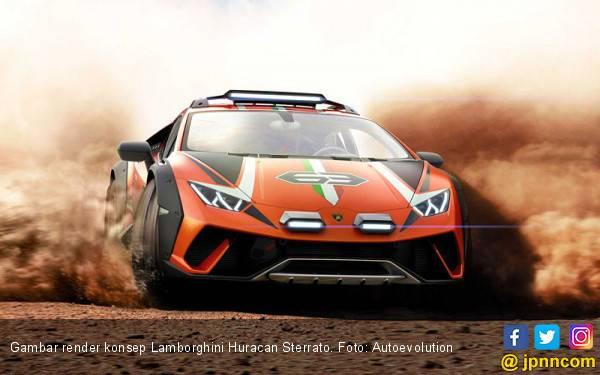 Lamborghini Berniat Menciptakan Sports Car Piawai Bermain Lumpur - JPNN.com