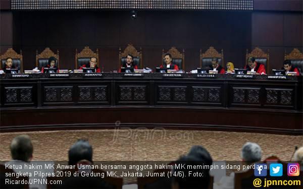 Bantah Pernyataan LPSK, Jubir MK: Tidak Ada Ancaman ke Sembilan Hakim - JPNN.com