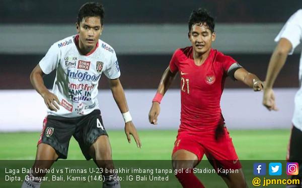 Meski Bertabur Pemain Bintang, Bali United Hanya Bisa Seri Lawan Timnas U-23 - JPNN.com