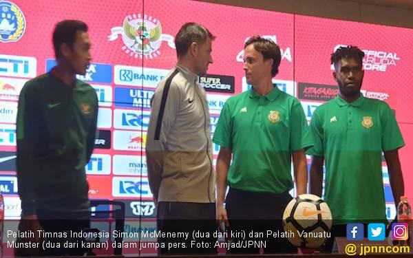 Laga Timnas Indonesia vs Vanuatu Dipimpin Wasit Lokal - JPNN.com
