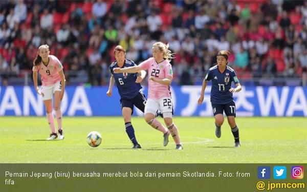 Jepang Petik Kemenangan Pertama di Piala Dunia Wanita 2019 - JPNN.com