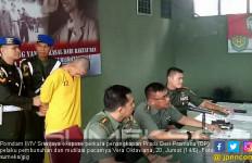 Sikap Prada DP Saat Dihadirkan Dalam Ekspose Kasus Mutilasi Sang Pacar - JPNN.com