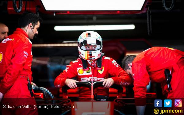 Akhirnya Ferrari Mengikhlaskan Vettel Kena Penalti di F1 Kanada - JPNN.com