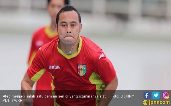 Jelang Arungi Liga 2, Mitra Kukar Genjot Fisik Atep cs - JPNN.com