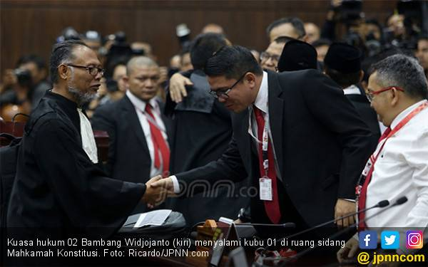 TKN Jokowi Anggap Kubu Prabowo Berlebihan Soal Perlindungan Saksi Sidang di MK - JPNN.com