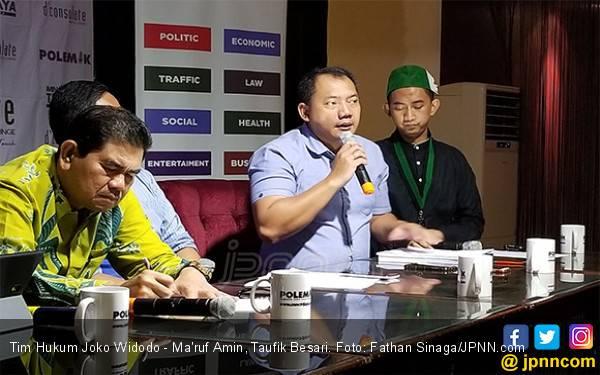 Tim Hukum Jokowi Serahkan Jawaban dan Sebelas Bukti Baru ke MK - JPNN.com