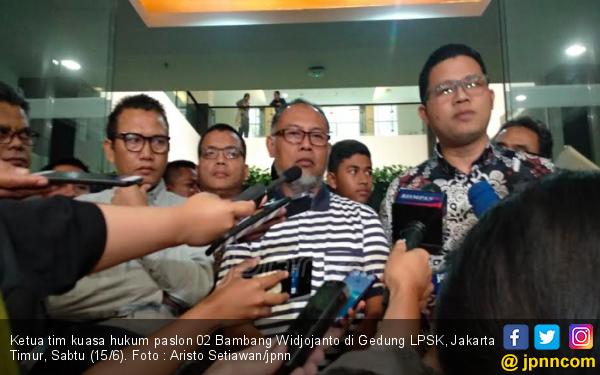 Lindungi Saksi, Tim Hukum Prabowo - Sandi Punya Permintaan Khusus ke MK - JPNN.com