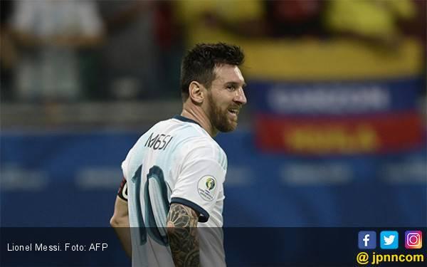 Pahitnya Perasaan Lionel Messi Setelah Argentina Keok dari Kolombia di Copa America 2019 - JPNN.com