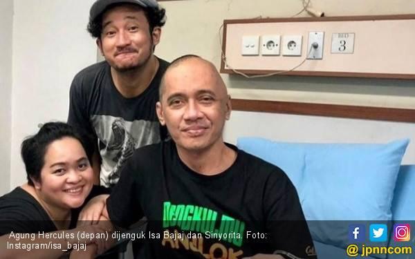 Meski Sedang Sakit, Agung Hercules Tetap Melucu - JPNN.com