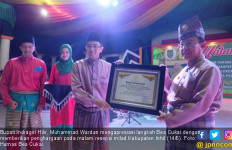 Bea Cukai Serahkan Puluhan Unit Laptop ke Dinas Pendidikan Indragiri Hilir - JPNN.com