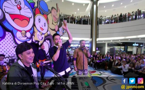 Kahitna Ramaikan Doraemon Pop City - JPNN.com