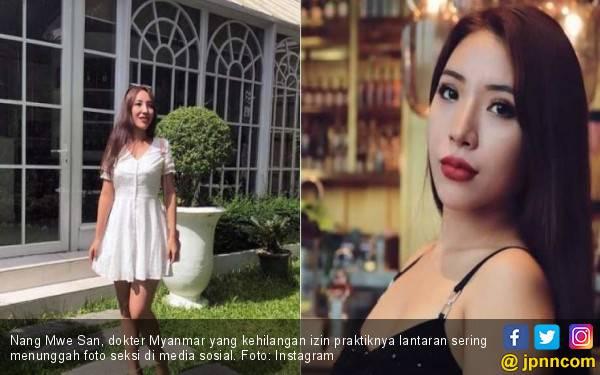 Terlalu Seksi, Dokter Cantik Ini Dicabut Izin Praktiknya - JPNN.com