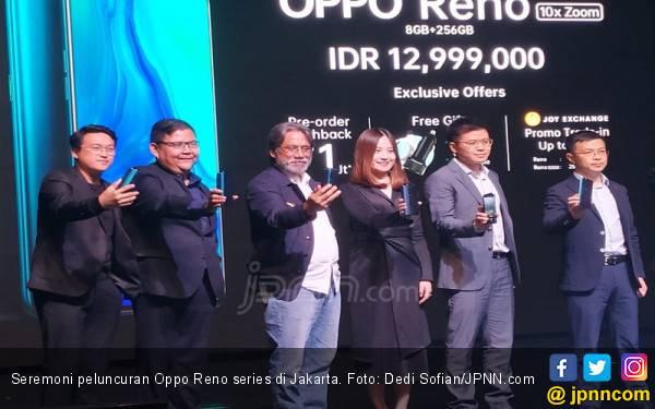 Oppo Reno Resmi Melantai, Berikut Spesifikasi dan Harganya - JPNN.com