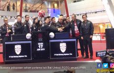Resmi Melantai di Bursa Saham Indonesia, Bali United Raup Dana Rp 350 Miliar - JPNN.com