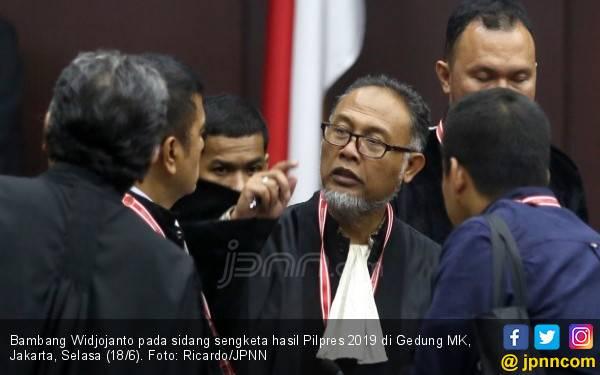 Debat Panas BW vs Luhut di Sidang Sengketa Hasil Pilpres 2019 - JPNN.com