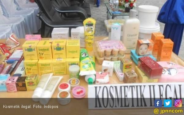 BPOM Jateng Gerebek Gudang Kosmetik Ilegal Senilai Rp 1,3 Miliar - JPNN.com
