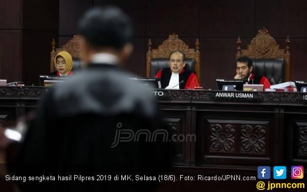 Sidang Sengketa Hasil Pilpres 2019: Jawaban Tim Kuasa Hukum KPU Menohok Banget - JPNN.com