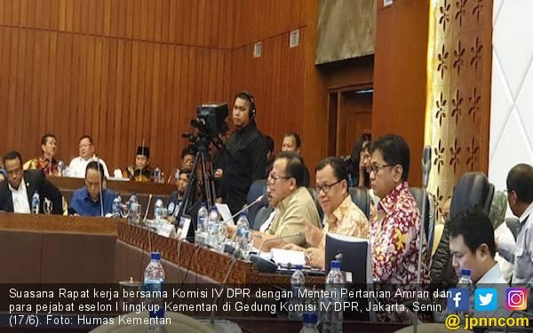 Komisi IV DPR Nilai Menteri Amran Raih Prestasi Spektakuler - JPNN.com