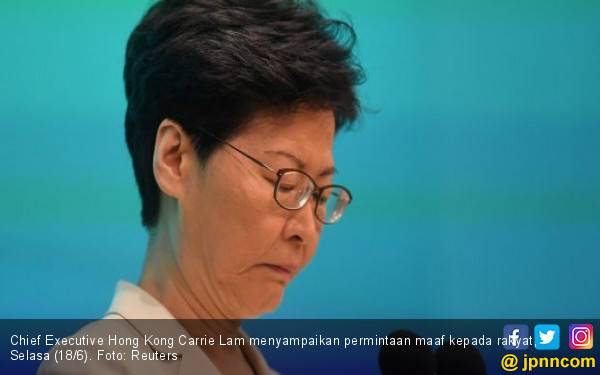 Janji Manis Pemimpin Hong Kong setelah Sepekan Penuh Dihajar Demonstrasi - JPNN.com