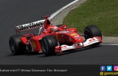 Mobil F1 Michael Schumacer Akan Dilelang, Banyak Sejarah Emas Ferrari di Dalamnya - JPNN.com