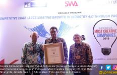 Pupuk Indonesia Raih Penghargaan Indonesia Most Creative Company 2019 - JPNN.com