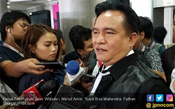 Yusril: Ternyata Saksi Wow yang Diklaim BW Tidak Ada Apa-apanya - JPNN.com