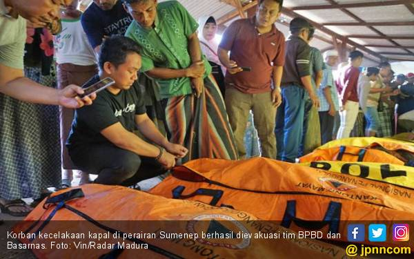 15 Jasad Korban KM Amin Jaya Ditemukan - JPNN.com