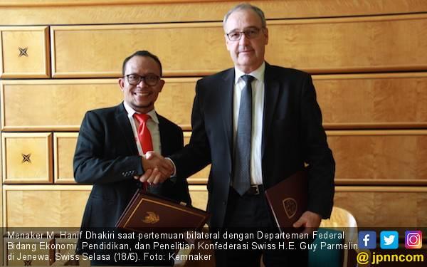 Indonesia - Swiss Menjalin Kerja Sama Bidang Ketenagakerjaan - JPNN.com